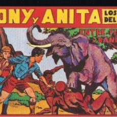 Tebeos: TONY Y ANITA Nº 21. Lote 192821410