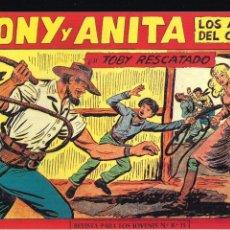 Tebeos: TONY Y ANITA Nº 153. Lote 193064755