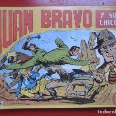 BDs: LOTE 33 TEBEOS JUAN BRAVO Y SUS CHICOS REEDICION VER NUMEROS. Lote 193083653