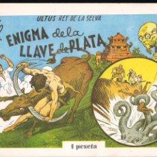Tebeos: ULTUS REY DE LA SELVA. EL ENIGMA DE LA LLAVE DE PLATA. Lote 193256081