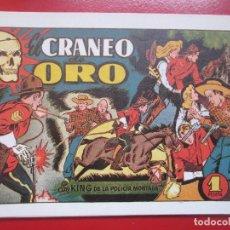 Tebeos: LOTE 9 TEBEOS CON KING DE LA POLICIA MONTADA REEDICION VER NUMEROS. Lote 193822597