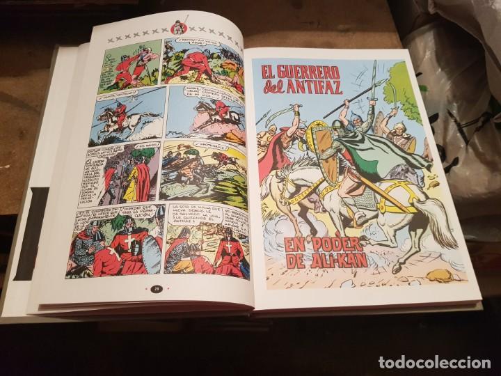 Tebeos: COLECCIÓN COMPLETA NUEVA 10 TOMOS ¡MIRAR ENVÍO! EL GUERRERO DEL ANTIFAZ TEBEOS CÓMIC FACSÍMIL 1991 - Foto 6 - 194119445