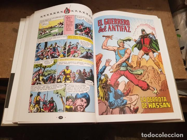 Tebeos: COLECCIÓN COMPLETA NUEVA 10 TOMOS ¡MIRAR ENVÍO! EL GUERRERO DEL ANTIFAZ TEBEOS CÓMIC FACSÍMIL 1991 - Foto 10 - 194119445