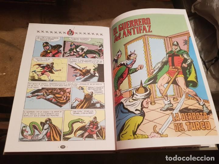 Tebeos: COLECCIÓN COMPLETA NUEVA 10 TOMOS ¡MIRAR ENVÍO! EL GUERRERO DEL ANTIFAZ TEBEOS CÓMIC FACSÍMIL 1991 - Foto 12 - 194119445