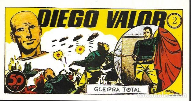 DIEGO VALOR. IBERCOMIC 1986. TOMO 2 (Tebeos y Comics - Tebeos Reediciones)