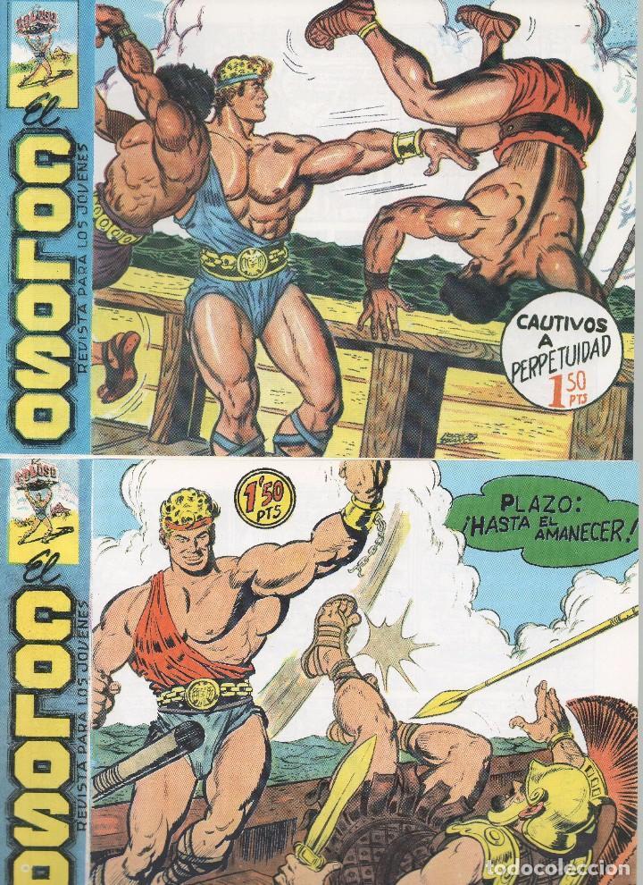 Tebeos: EL COLOSO DIBUJOS L. BLANCO - Foto 3 - 194722411