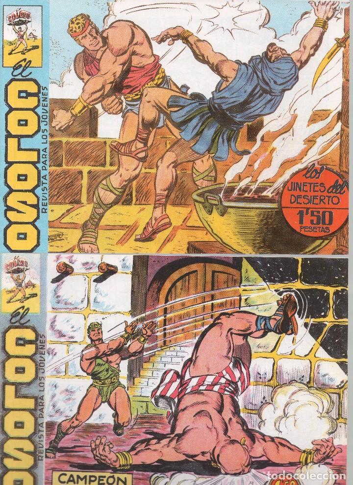 Tebeos: EL COLOSO DIBUJOS L. BLANCO - Foto 5 - 194722411
