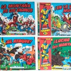 Tebeos: 4 TEBEOS EL CAPITAN TRUENO - COLECCION DAN SUPERAVENTURAS - Nº 14 - 16 - 28 - 30. Lote 195148225