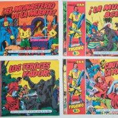 Tebeos: 4 TEBEOS EL CAPITAN TRUENO - COLECCION DAN SUPERAVENTURAS - Nº 2 - 5 - 23 - 27. Lote 195148336