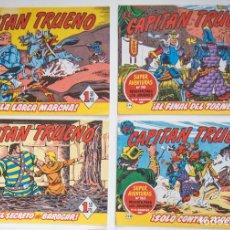 Tebeos: 4 TEBEOS EL CAPITAN TRUENO - COLECCION SUPERAVENTURAS - Nº162 - 179 - 180 - 181. Lote 195149076