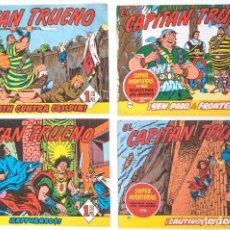 Tebeos: 4 TEBEOS EL CAPITAN TRUENO - COLECCION SUPERAVENTURAS - Nº 14 - 95 - 113 - 192. Lote 195149173