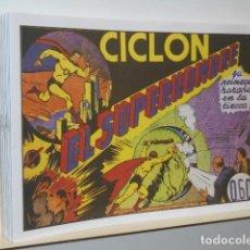 Tebeos: CICLON EL SUPERHOMBRE COMPLETA 16 NUM. REEDICION . Lote 195229671