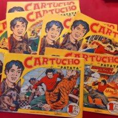 Tebeos: CARTUCHO Y PATATA COMPLETA 25 NUMS. REEDICION IMPECABLE. Lote 197857611