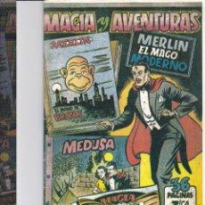 Tebeos: MERLIN EL MAGO MODERNO-REEDICION-. Lote 198143931