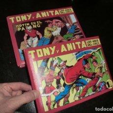 Tebeos: BONITO PAR DE TOMOS DE TONI Y ANITA EN REEDICION. Lote 198243965