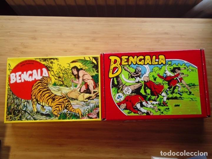 BENGALA - 1ª Y 2ª SERIE - COLECCION COMPLETA - REEDICION - MBE - CAJA CONTENEDORA ORIGINAL (Tebeos y Comics - Tebeos Reediciones)