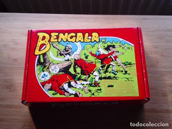 Tebeos: BENGALA - 1ª Y 2ª SERIE - COLECCION COMPLETA - REEDICION - MBE - CAJA CONTENEDORA ORIGINAL - Foto 4 - 198680323