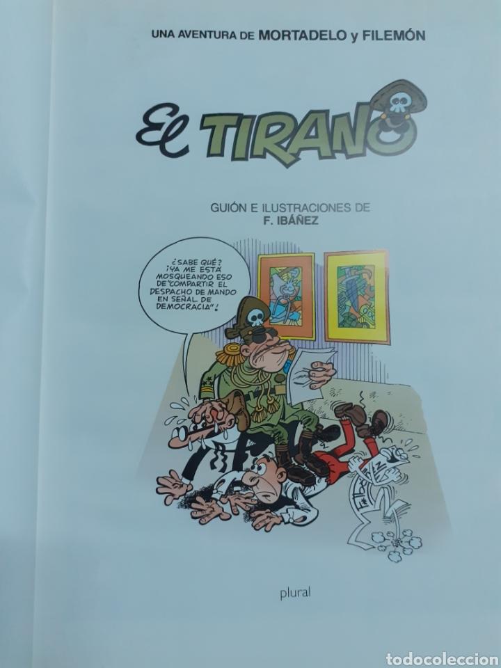 Tebeos: Mortadelo y Filemón, el tirano, año 2000 - Foto 2 - 202822241