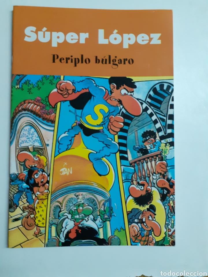 Tebeos: Dos tebeos, Súper López, año 2003 - Foto 2 - 202824450