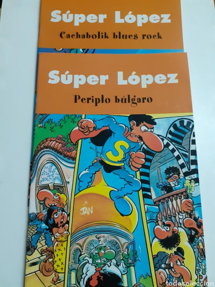 DOS TEBEOS, SÚPER LÓPEZ, AÑO 2003 (Tebeos y Comics - Tebeos Reediciones)