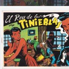 Tebeos: EL REY DE LAS TINIEBLAS-REEDICION. Lote 202854400