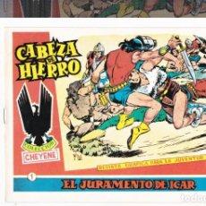 Tebeos: CABEZA DE HIERRO-REEDICION. Lote 202854672