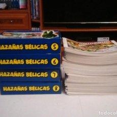 Tebeos: HAZAÑAS BELICAS - COLECCION COMPLETA - 321 NUMEROS - MUY BUEN ESTADO - REEDICION - GORBAUD. Lote 204390653