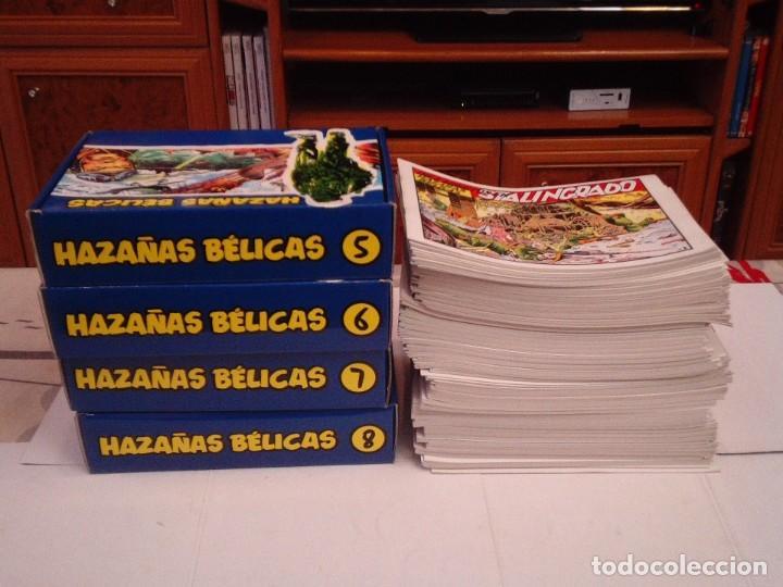 Tebeos: HAZAÑAS BELICAS - COLECCION COMPLETA - 321 NUMEROS - MUY BUEN ESTADO - REEDICION - GORBAUD - Foto 3 - 204390653