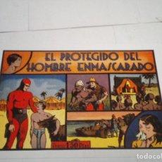 Tebeos: EL PROTEGIDO DEL HOMBRE ENMASCARADO - REEDICION - NUMERO 10 -LAS GRANDES AVENTURAS - MBE - NUEVO. Lote 204507132