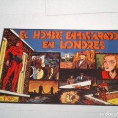 Tebeos: EL HOMBRE ENMASCARADO EN LONDRES - REEDICION - NUMERO 11 - LAS GRANDES AVENTURAS - MBE - NUEVO. Lote 204507610