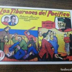 Tebeos: LOS TIBURONES DEL PACIFICO. ROBERTO ALCAZAR. REEDICIÓN VALENCIANA. FACSIMIL.. Lote 204640552