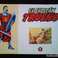 Tebeos: EL CAPITÁN TRUENO : 32 EJEMPLARES FACSIMIL - EDICIÓN EL PERIÓDICO. Lote 205342917