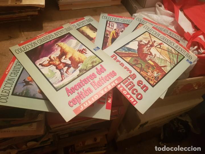 Tebeos: LOTE 66 TEBEOS / CÓMIC EL PERIÓDICO COLECCIÓN GRANDES AVENTURAS ¡LEER ENVÍO! TOMO I-II-III-IV - Foto 7 - 205534862