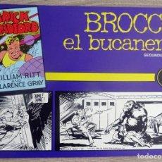 Tebeos: BRICK BRADFORD BROCCO EL BUCANERO SEGUNDA PARTE Nº 4. Lote 206277565