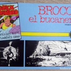 Tebeos: BRICK BRADFORD BROCCO EL BUCANERO PRIMERA PARTE Nº 3. Lote 206277853