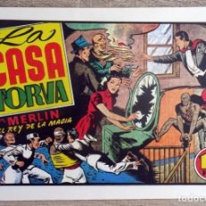 Giornalini: COMIC LA CASA TORVA CON MERLIN EL REY DE LA MAGIA. Lote 206375950