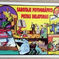 Tebeos: COMIC AVENTURAS DE JORGE Y FERNANDO SABOTAJE FOTOGRÁFICO PISTAS DELATORAS Nº 59. Lote 206382673