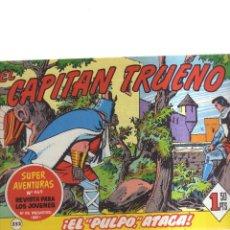 Tebeos: EL CAPINTAN TRUENO N,252 EL PULPO ATACA. Lote 207193710