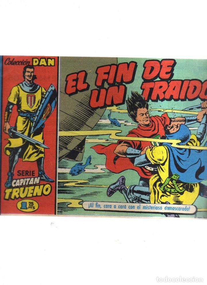 CAPITAN TRUENO N,4 EL FIN DE UN TRAIDOR (Tebeos y Comics - Tebeos Reediciones)