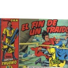 Tebeos: CAPITAN TRUENO N,4 EL FIN DE UN TRAIDOR. Lote 207194071