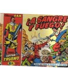 Tebeos: CAPITAN TRUENO EL ASEDIO N,1 A SANGRE Y FUEGO. Lote 207194146