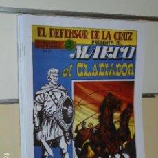 Tebeos: MARCO EL GLADIADOR COMPLETA 6 NUMS. - REEDICION. Lote 207228346