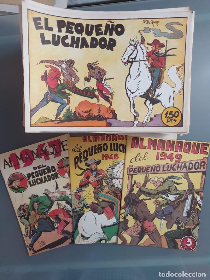EL PEQUEÑO LUCHADOR COMPLETA 230 NUMEROS + 3 ALMANAQUES (Tebeos y Comics - Tebeos Reediciones)