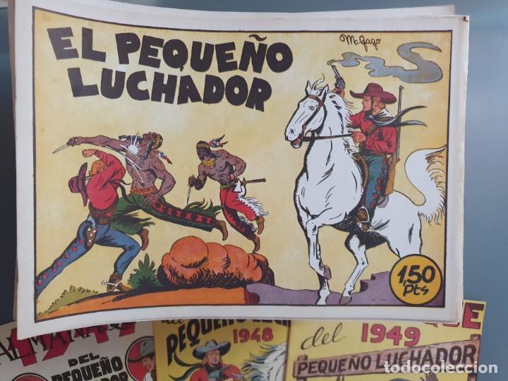 Tebeos: EL PEQUEÑO LUCHADOR COMPLETA 230 NUMEROS + 3 ALMANAQUES - Foto 3 - 207327102