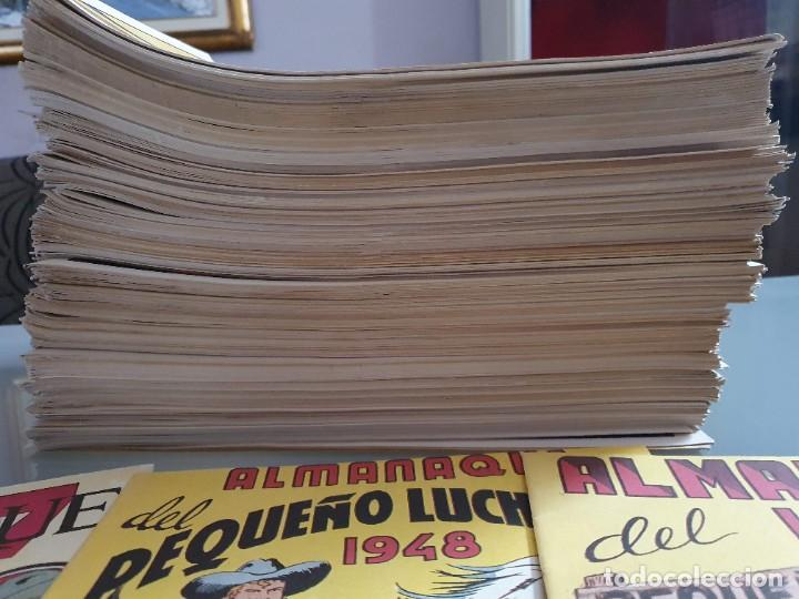 Tebeos: EL PEQUEÑO LUCHADOR COMPLETA 230 NUMEROS + 3 ALMANAQUES - Foto 4 - 207327102