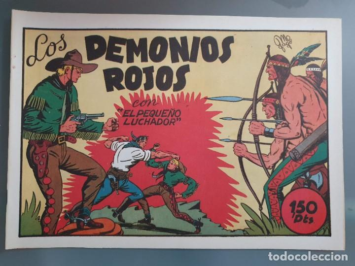 Tebeos: EL PEQUEÑO LUCHADOR COMPLETA 230 NUMEROS + 3 ALMANAQUES - Foto 6 - 207327102