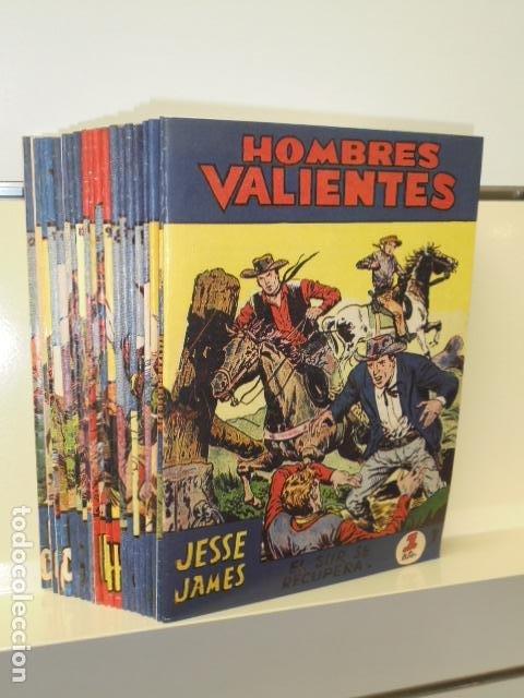HOMBRES VALIENTES COMPLETA 20 NUM. REEDICION (Tebeos y Comics - Tebeos Reediciones)