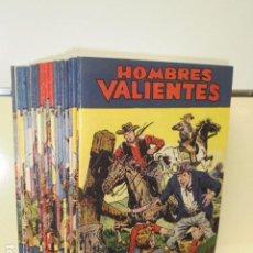 Tebeos: HOMBRES VALIENTES COMPLETA 20 NUM. REEDICION. Lote 218588016
