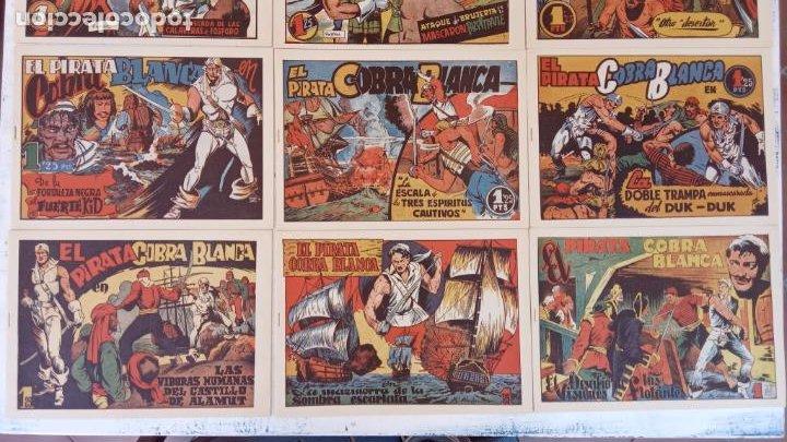 Tebeos: EL PIRATA COBRA BLANCA COMPLETA 1 AL 12 - nueva papel reciclado no blanco - ver todas las portadas - Foto 2 - 209883110
