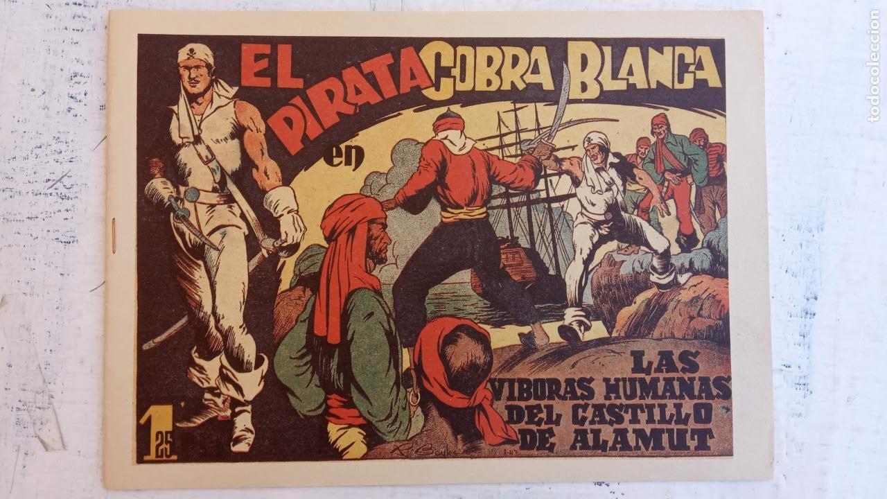 Tebeos: EL PIRATA COBRA BLANCA COMPLETA 1 AL 12 - nueva papel reciclado no blanco - ver todas las portadas - Foto 3 - 209883110